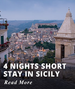 4 nights Short Stay in Sicily Tour