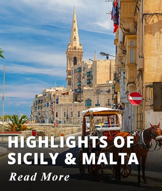 Highlights of Sicily & Malta Tour