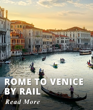 Rome to Venice by Rail Tour