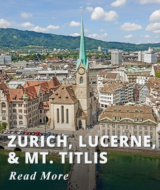 Zurich, Lucerne, & Mt. Titlis Tour