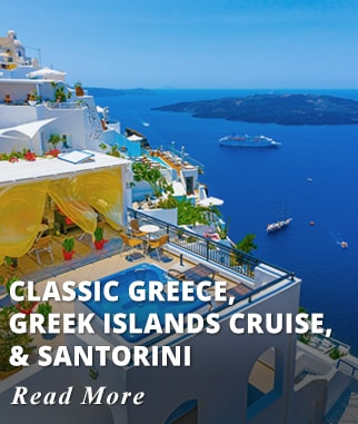 Classic Greece, Greek Islands - Turkey Cruise and Santorini Tour