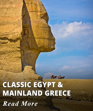 Treasures of Egypt & Greece Tour