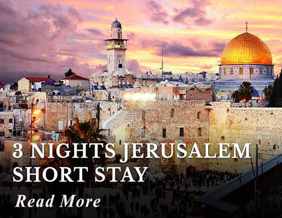 3 Nights Jerusalem Short Stay