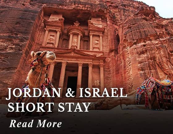 Jordan & Israel Short Stay