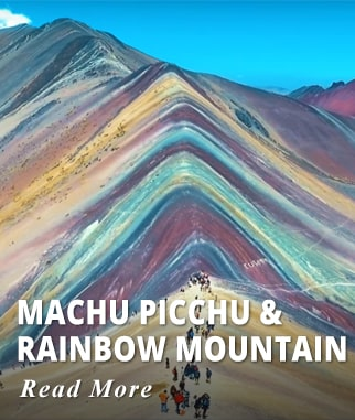 Machu Picchu & Rainbow Mountain