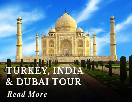 Turkey - India - Dubai Tour