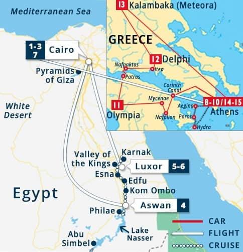 Poros Greece Map.Egypt Mainland Greece Cheap Cairo Egypt Travel Deals Athens
