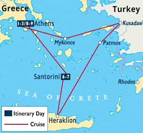 Athens greek islands turkey cruise santorini tour celestyal athens greek islands turkey cruise santorini map gumiabroncs
