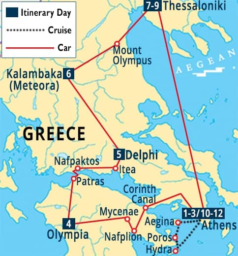 Greece Travel Package From India